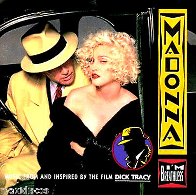 """LP - Madonna - I'm Breathless (DANCE) MUSIC FROM """"DICK TRACY"""" FILM - NEW - NUEVO"""