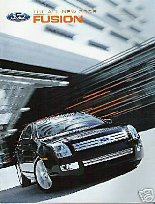 Mint Condition 2006 FORD FUSION / SEL BROCHURE 06