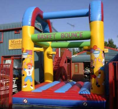 Basketball Bouncy Castle 16.5 FT X 16.5 FT Made To Order