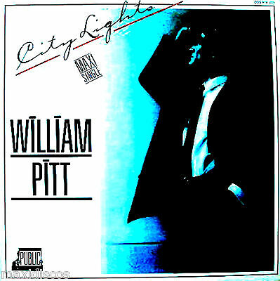 "12"" - William Pitt - City Lights (Disco) Nuevo De Tienda*new From Store Listen"