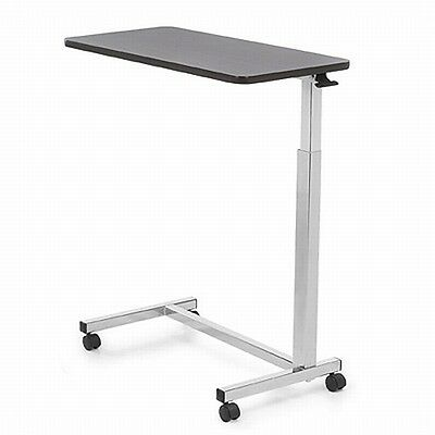 Invacare 6417 Hospital Over Bed Overbed Table Laptop Food TV Rolling Non Tilt