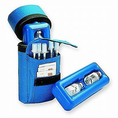 Medicool MCL3676500001 Syringe Insulin Protector Cooling Travel  Case - Blue
