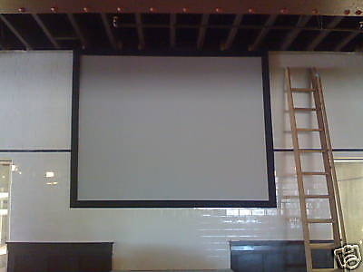 "ProScreens 140"" (72""X127"") GRAY HC movie PROJECTOR projection SCREEN MATERIAL"