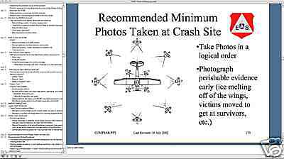 423 Slide Aviation CIVIL AIR PATROL SEARCH & RESCUE Presentation on CD