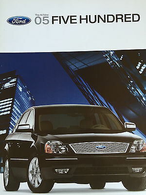 Mint Condition 2005 FORD FIVE HUNDRED BROCHURE 05