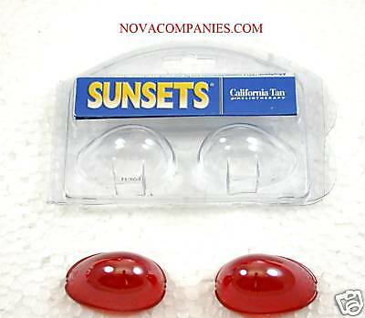 Tanning Bed Eyewear SUNSETS Goggle  protection RED