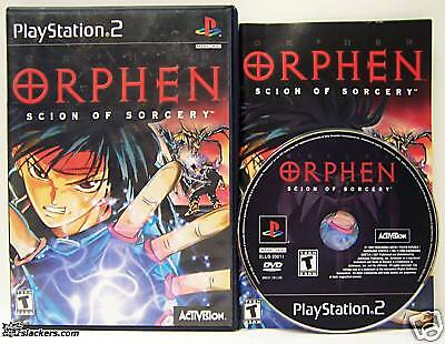 Orphen: Scion of Sorcery (Playstation 2) COMPLETE!!!