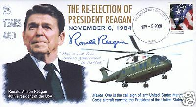 COVERSCAPE computer generated President Reagan cover