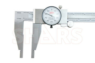 "18"" Stainless Steel Long Dial Caliper Heavy Duty New"