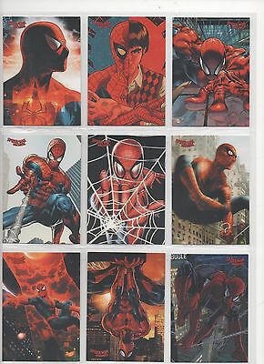 Rittenhouse Spider-Man Archives Base Set 72 Cards