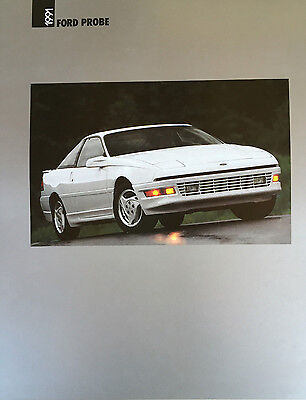 Good Condition 1991 FORD PROBE BROCHURE 91