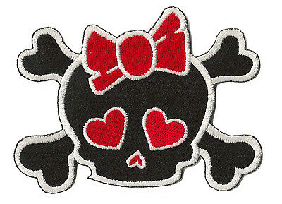 patch écusson brodé patche Dead Head Black & Red Manga thermocollable