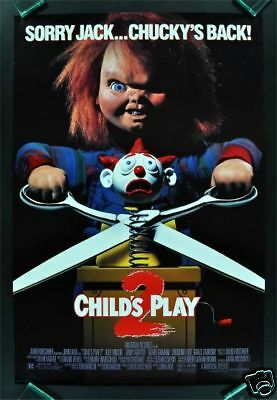 Child's Play 2 * 1 Sh Ds Orig Rolled Movie Poster 1990