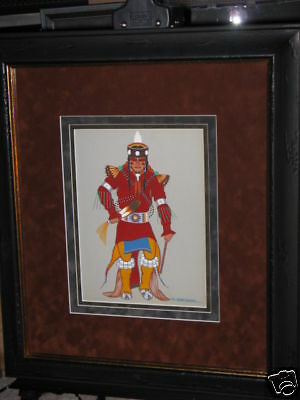 "Archie Blackowl ""original"" Painting / Cheyenne"