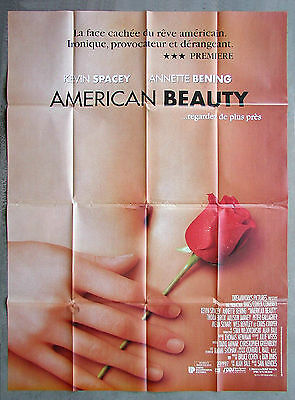 AMERICAN BEAUTY * CineMasterpieces FRENCH 1P ORIGINAL MOVIE POSTER NM 1999