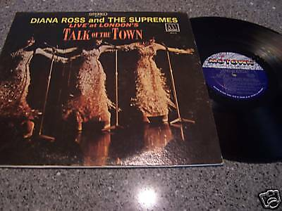 """Diana Ross """"Talk Of The Town"""" LP MOTOWN MS-676"""
