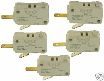 5X Cherry KWBB0005 331-60 Microswitch Micro Switch #273