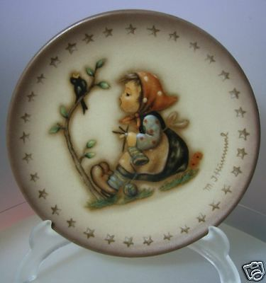 "M.i.hummel ""happy Pastime Mini Plate"" Hum 978 Mib"