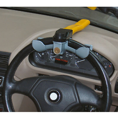 car steering wheel rotary lock Heavy Duty van or 4x4 anti theft security keys