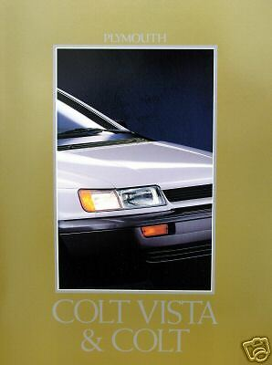 1992 Plymouth Colt & Colt Vista new vehicle brochure