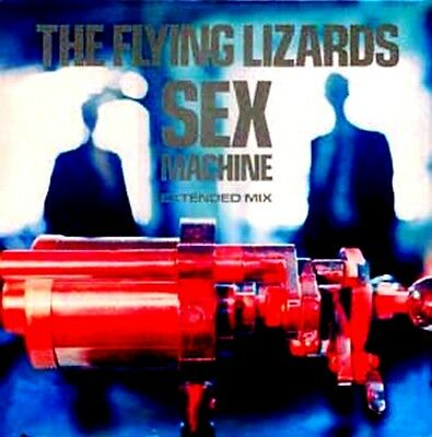 "12"" - The Flying Lizard  - Sex Machine (ELECTRO EXPERIMENTAL) NEW LISTEN - NUEVO"