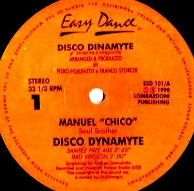 """12"""" - Manuel """"Chico"""" Soul Brother - Disco Dinamyte - NUEVO - NEW, STOCK STORE"""