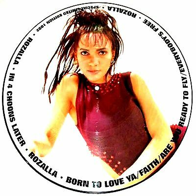 """12"""" - Rozalla - In 4 Choons Later (PICTURE DISC) NUEVO - NEW, STOCK STORE"""