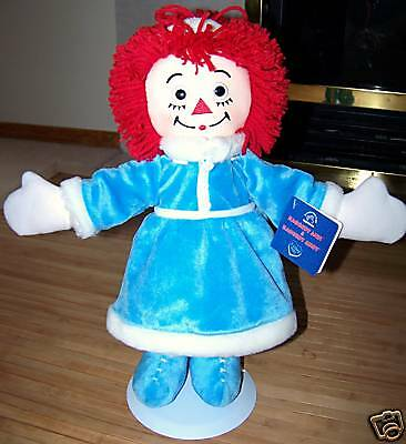 "Raggedy Ann Doll 16""H Applause Winter Outfit New!"