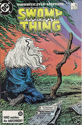 Swamp Thing #55 comic 1986 Alan Moore