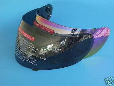 2 Visors Full Face Motorcycle Helmet Tinted + Mirror