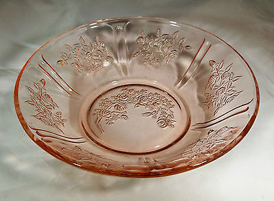 """SHARON CABBAGE ROSE PINK 6"""" DIAMETER CEREAL  or OATMEAL BOWL!"""