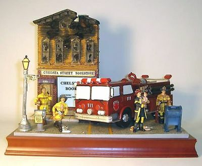 VANMARK Beyond the Call Large Fire Truck  Diorama
