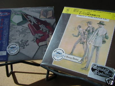 Mott The Hoople S/T & Young Dudes 2006 Japan Replica Jackets Obi Limited Cd's
