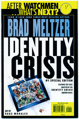 IDENTITY CRISIS #1 SPECIAL EDITION - Meltzer - NM Comic