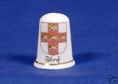 York Bone China Thimble B/21