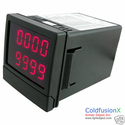 Programmable Digital Timer Counter Accumulator 9999day