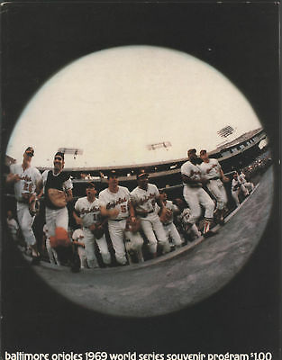 1969 Orioles vs Mets WORLD SERIES Program, O's Issue
