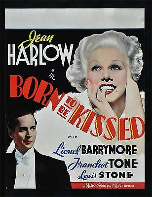 Girl From Missouri * Born To Be Kissed Movie Poster Jean Harlow Cinemasterpieces