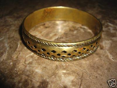 Rare Antique Islamic Bronze  Bangle Ladies'  Bracelet
