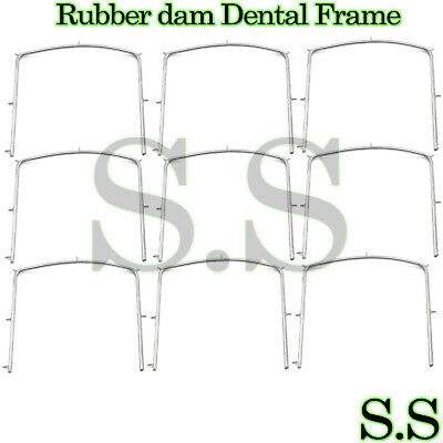 "40 Rubber dam Dental Frame Holder 5"" x 5"" Surgical Instruments"
