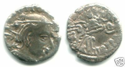 AR drachm of Vijayasena (238 - 250 AD) , Western Satraps in India