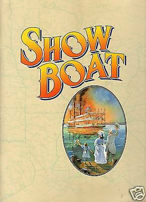 Show Boat Theater Program Chicago 1996
