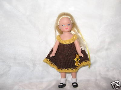 Sunflower Dress  for Wee Patsy by MGT Designs
