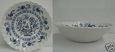 J & G MEAKIN BLUE NORDIC Quantity 1 CEREAL BOWL Blue Onion
