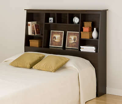 Tall Double/Full/Queen Bed Headboard - Espresso NEW