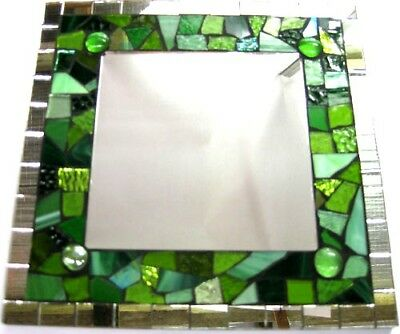 GREEN Deluxe Mosaic Mirror Kit Everything u need NEW