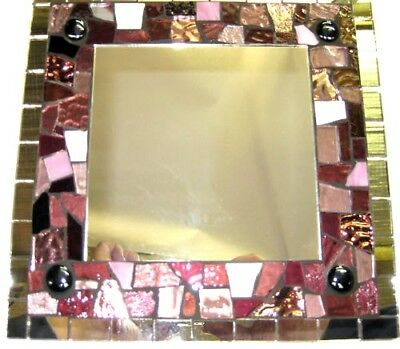 PINK Deluxe Mosaic Mirror Kit Everything u need NEW