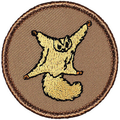Cool Boy Scout Patch - Flying Squirrel Patrol! (#182)