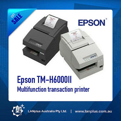 Epson TM-H6000II Multifuction Thermal Receipt Printer w Parallel Port No Adapter