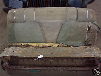 54 55 56 1954 1955 1956 Olds Oldsmobile Bench Front Seat Frame Springs Cushions